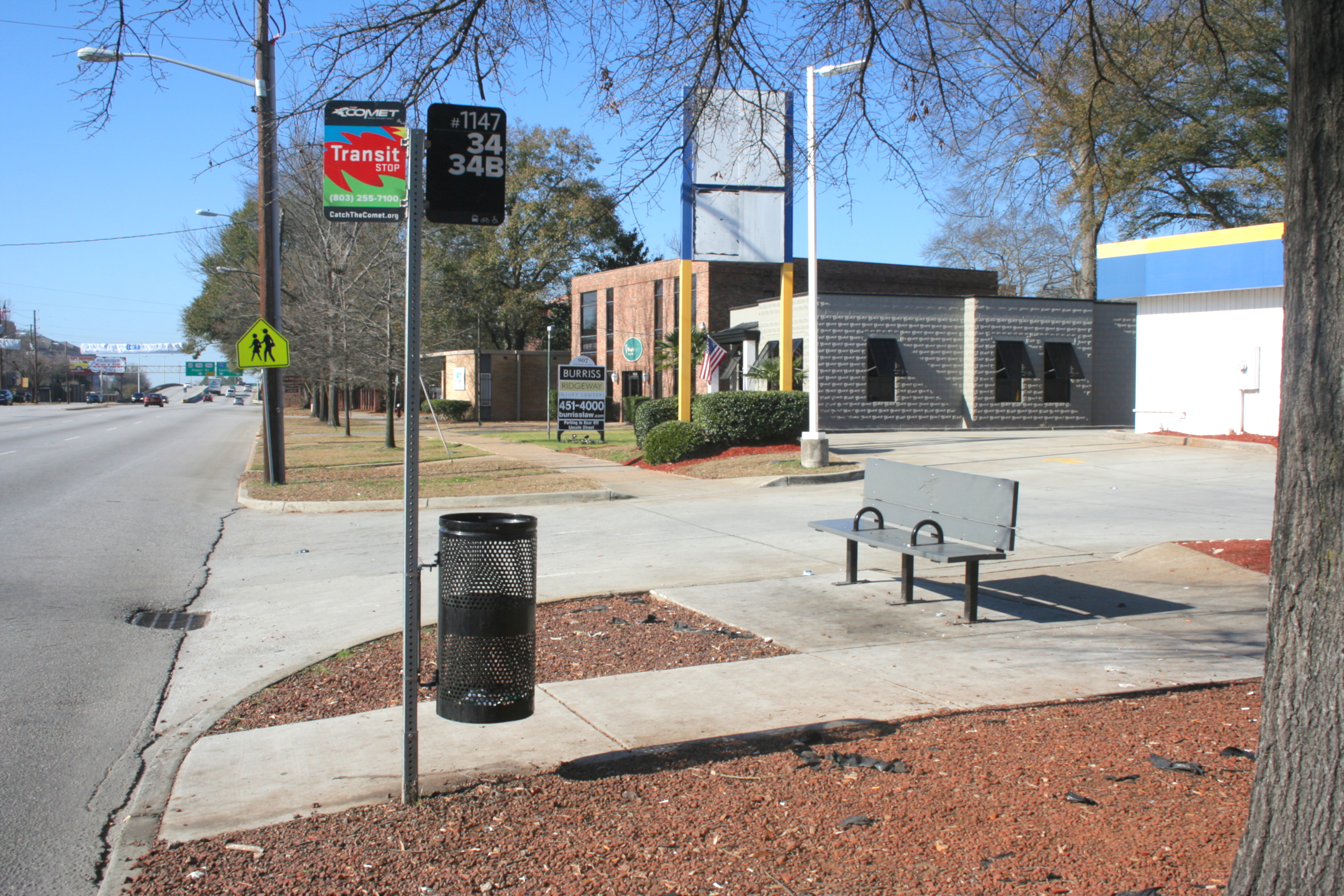 Elmwood Bus Stop